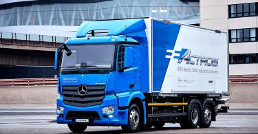 Mercedes-Benz E-Actros. EEN-Förderung