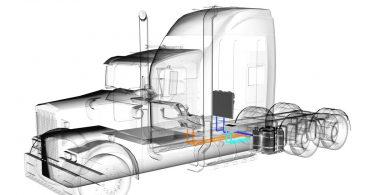 Absorptions-Standklimatisierung fürs LKW-Fahrerhaus