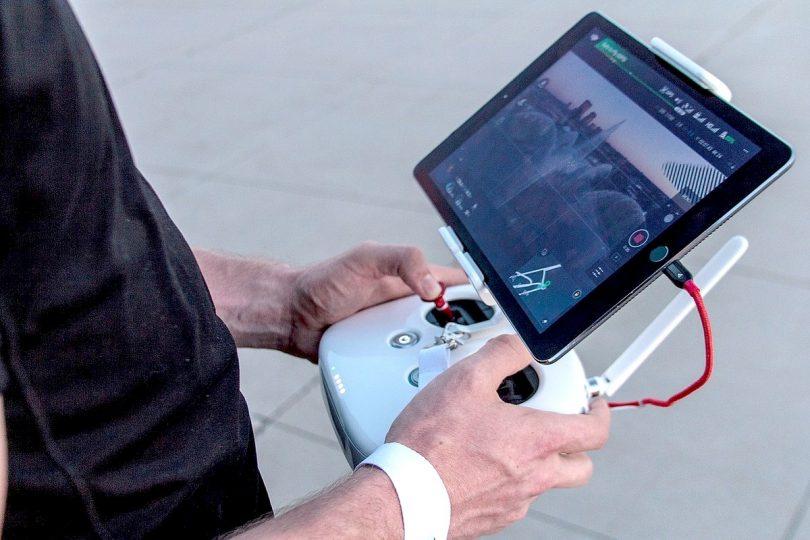 Drohnensteuerung via Sprachkanal