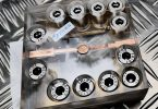 Testaufbau für die Festkörperbatterie