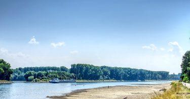 Niedrige Wasserstände schränken Güterverkehr auf dem Wasser ein