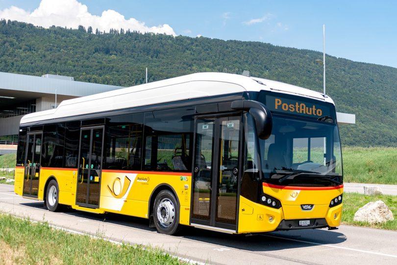 Citea Electric for PostBus Switzerland