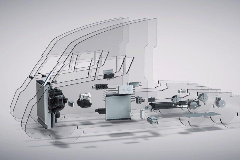Nutzfahrzeuge mit Brennstoffzellenantrieb