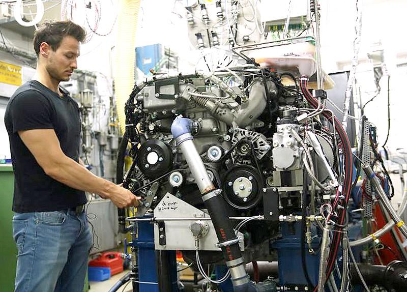 Auf dem Weg zu sauberen Verbrennungsmotoren