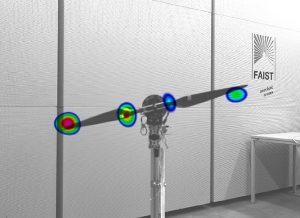 Lärmquellen an Drohnenpropellern