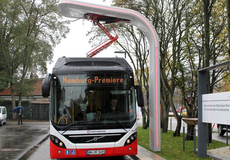 Elektro-Hybridbus mit Ultrakondensatoren