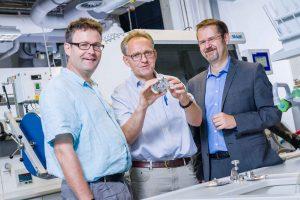 Forschen an Ultrakondensatoren