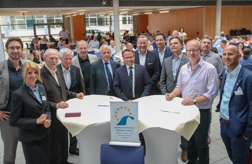 Gründungsveranstaltung der EPTS Foundation im Juni 2018 in Erfurt