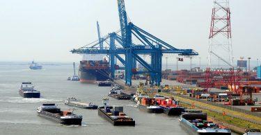 Pilotprojekt zur Konsolidierung kleiner Containervolumen im Hafen Antwerpen