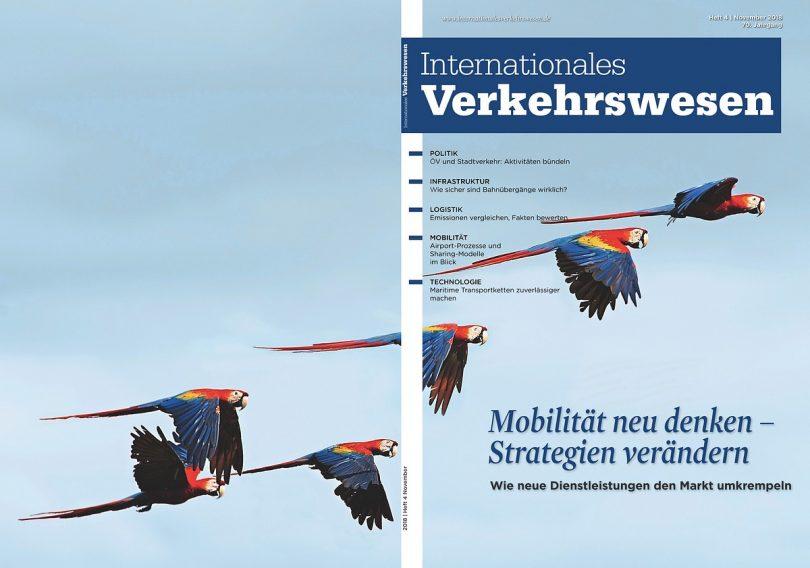 Internationales Verkehrswesen Ausgabe 4 | 2018