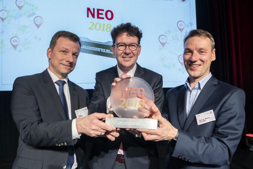NEO Award für EVA-Shuttle