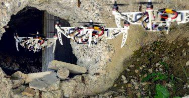 Faltbare Drohne