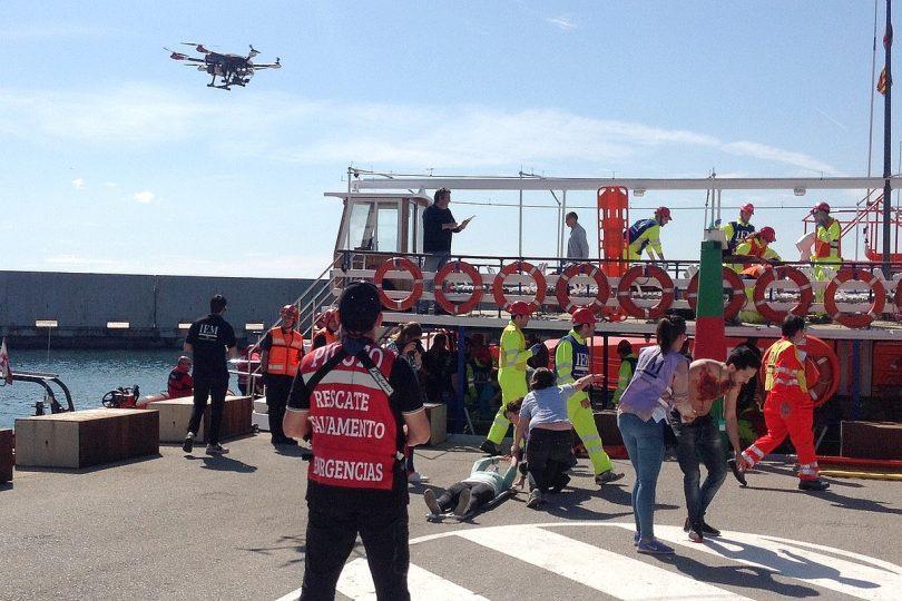 Rettungseinsatz mit Drohnen