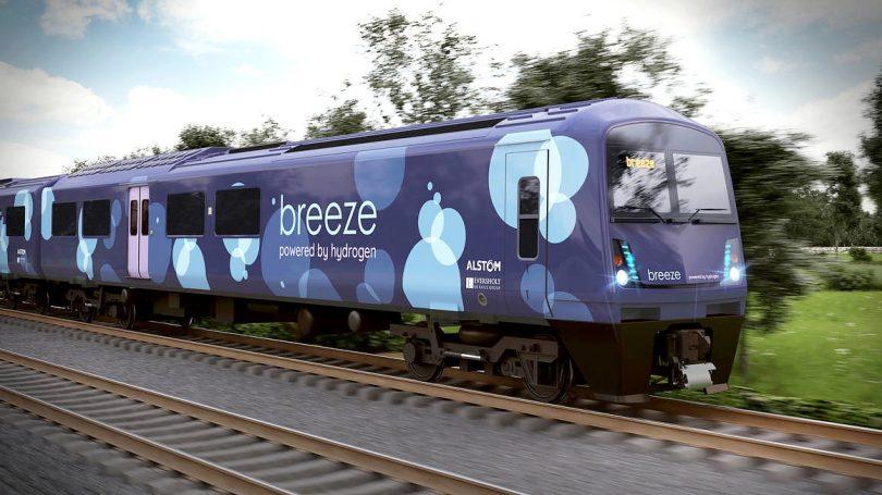Alstom and Eversholt Rail: Breeze