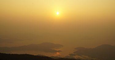 china air pollution decrease hongkong