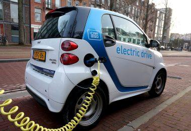 E-Auto in Amsterdam
