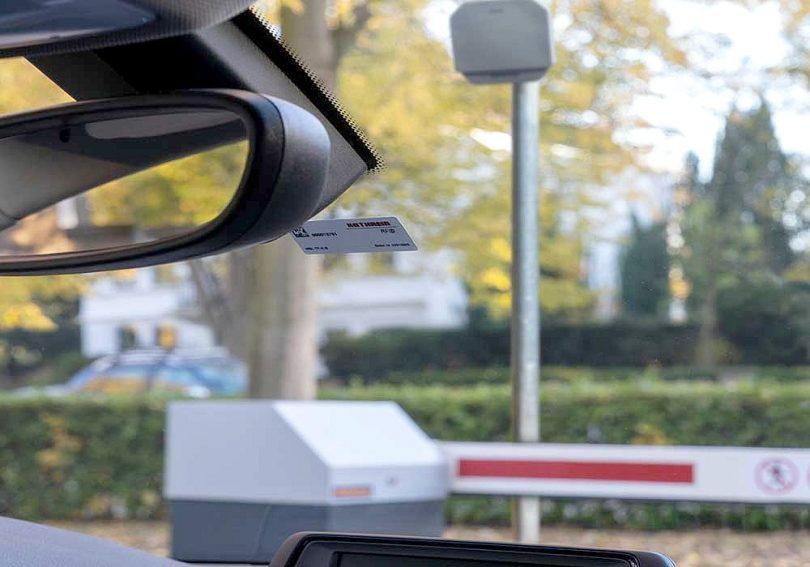 RFID-Weitbereichsleser von Hörmann