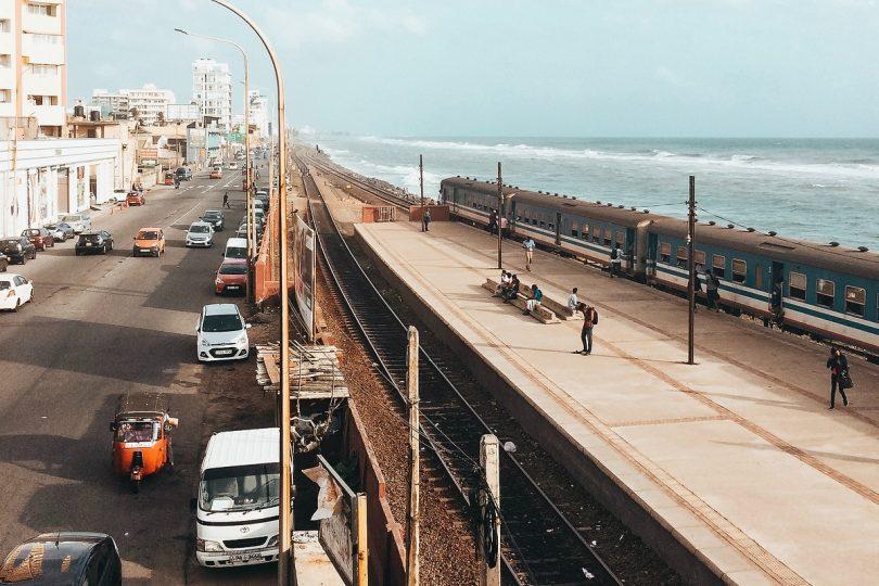 Sri Lanka Küste Verkehr