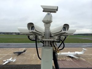 Fernüberwachung an kleinen Flughäfen