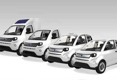 Electric vehicle product range IFEVS