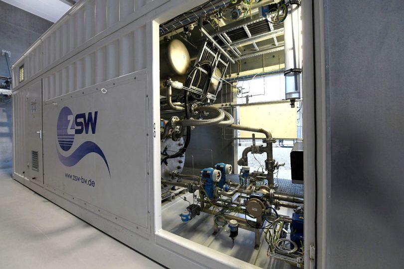 kommerzielle Power-to-Gas-Anlage des ZSW