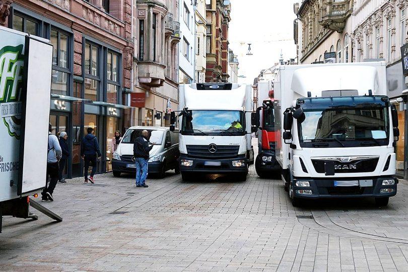 Wirtschaftsverkehre in Wiesbaden.