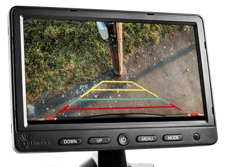 Dualkamera-Rückfahrsystem für Transporter