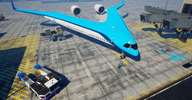 "KLM will be contributing towards TU Delft's research into an innovative flight concept known as the ""Flying-V"""