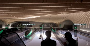 Hyperloop Passenger Experience in Virtual Reality (VR)