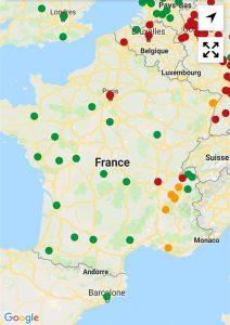 Frankreich Fahrverbote