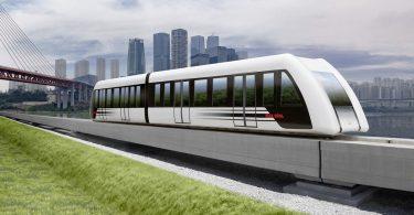 Kurzstator-Magnetbahnsystem   China   Magnetschnellbahn