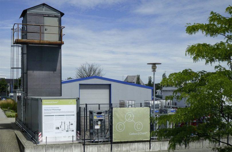 Hüttengas, Carbon2Chem®-Labor, Pilotanlage Methanol. ©_Fraunhofer UMSICHT