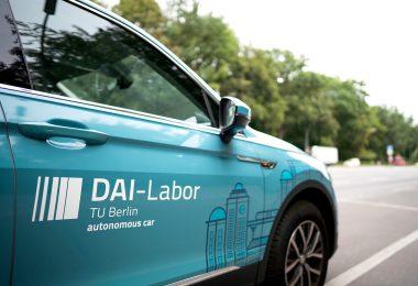 Teststrecke für autonomes und vernetztes Fahren
