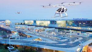 Flugtaxi: Erster Volocopter-Flug in Stuttgart 14.Sept 2019
