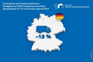 Bericht Transporte Quartal 3/2019
