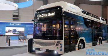Caetano Bus SA mit Toyota Brennstoffzellentechnik