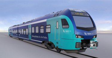 Züge im deutsch-dänischen Grenzbereich