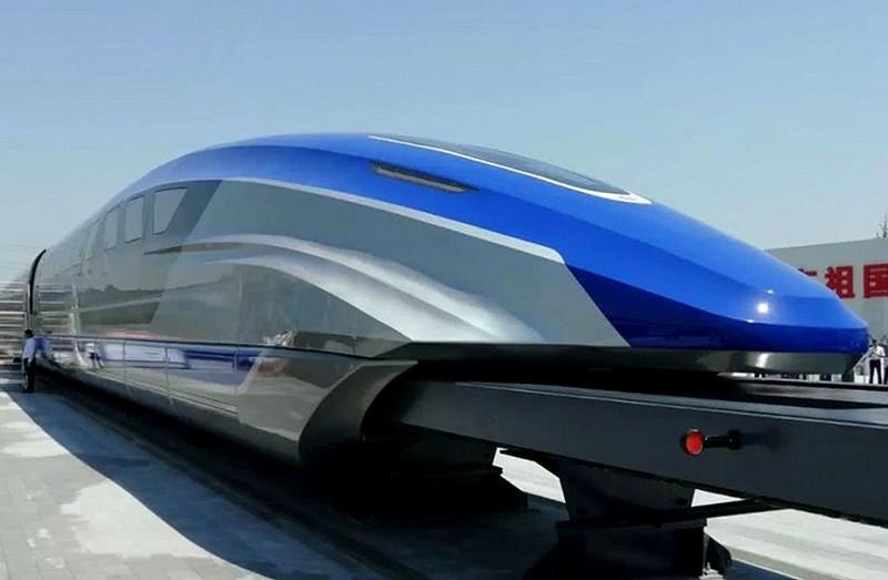 Bau einer neuen, 1.000 km langen Magnetschnellbahn (Transrapid Maglev)