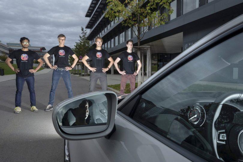 Farbmuster könnte autonom fahrende Fahrzeuge verwirren