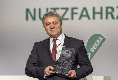 Dr. Stefan Guserle ist mit dem Europäischen Sicherheitspreis Nutzfahrzeuge 2019 ausgezeichnet