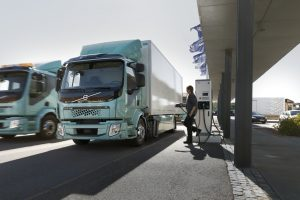 Charging Volvo FL/FE Electric trucks