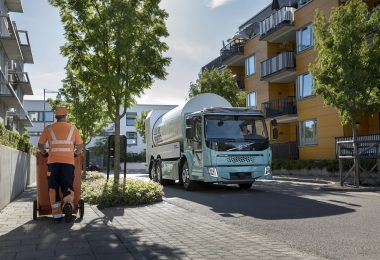 Volvo FE Electric refuse truck