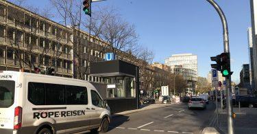 SmartOpenHamburg : Verkehr am Steindamm in Hamburg