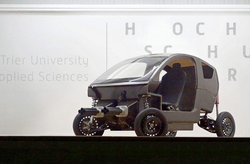proTRon Evolution – das hocheffiziente Elektroauto der Hochschule Trier