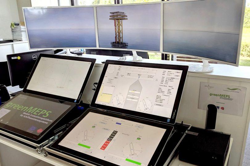 Mobile Evaluierungsplattform für Schiffsassistenzsysteme (greenMEPS)