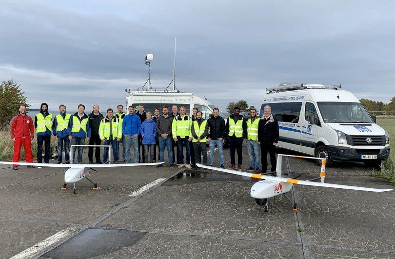 Seenotretter testen unbemanntes Luftfahrtsystem