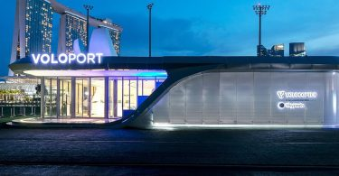 Skyports VoloPort vision