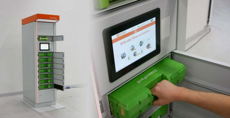 Akku-Wechselstationen GreenPack GmbH