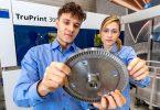 Deutsche Bahn lässt Ersatzteile aus Metall im 3D-Druck herstellen