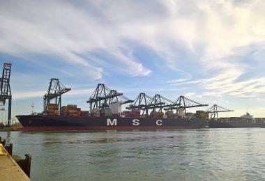 DataPorts wird auch im Hafen von Valencia demonstriert und getestet.